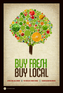 Buy local food essay